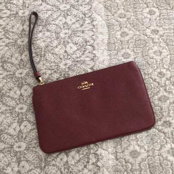 Coach Handbags - Coach small accessory bag for electronics (iPhone)